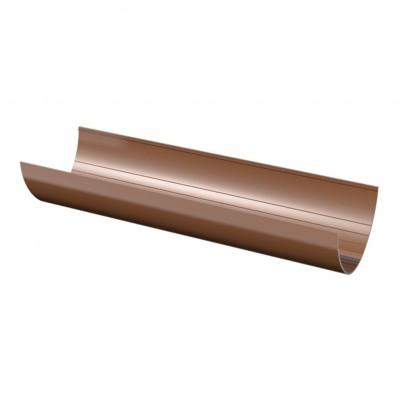 Желоб водосточный ТехноНИКОЛЬ D-125, Коричневый (3 м)