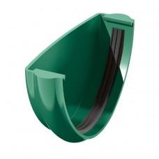 Заглушка желоба универсальная ТехноНИКОЛЬ D-125, Зеленый