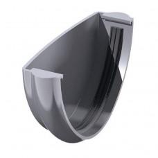 Заглушка желоба универсальная ТехноНИКОЛЬ D-125, Серый