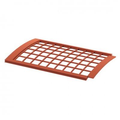 Сетка для водосточного желоба ТехноНИКОЛЬ D-125, Красный (0,6м)