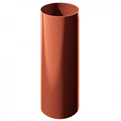 Труба водосточная ТехноНИКОЛЬ D-125, Красный