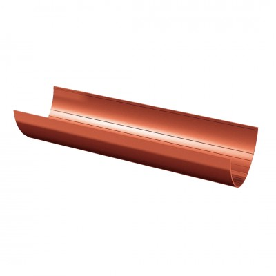 Желоб водосточный ТехноНИКОЛЬ D-125, Красный (3 м)