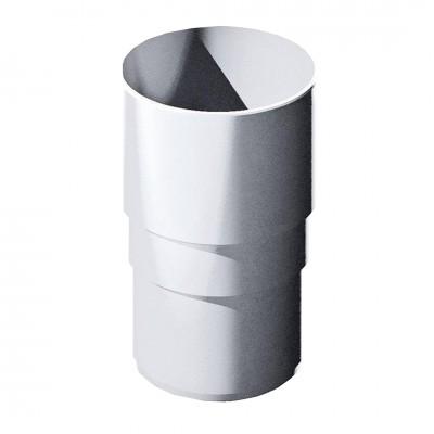 Муфта трубы ТехноНИКОЛЬ D-125 Белый