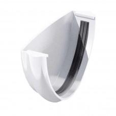 Заглушка желоба универсальная ТехноНИКОЛЬ D-125, Белый