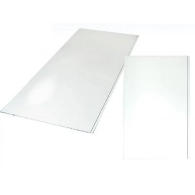 Панель ПВХ VOX (Вокс) Эколайн белый - длина 2.7 м
