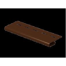 Завершающая планка к сайдингу FineBer Extra Color Могано