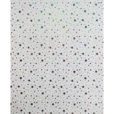 Панель ПВХ Пласт Декор 25см Голография звезды (LXL 5-0) - длина 3м